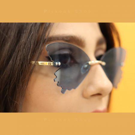 عینک آفتابی زنانه دیور مدل پروانه ای - فروشگاه پیرسوک