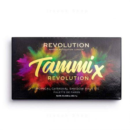 پالت سایه رولوشن مدل x tammi tropical carnival palette - فروشگاه پیرسوک
