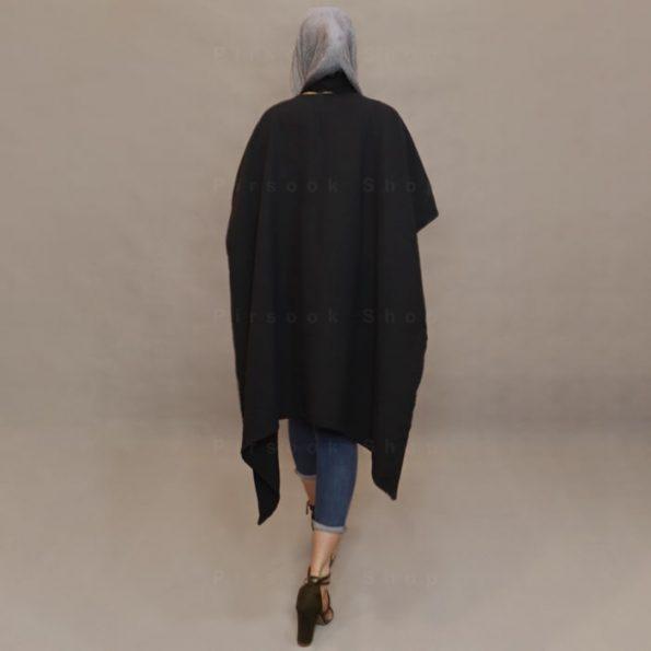 پانچو زنانه مشکی -مونوبون فروشگاه پیرسوک۴